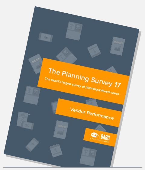 Planning Survey Vendor Performance Report